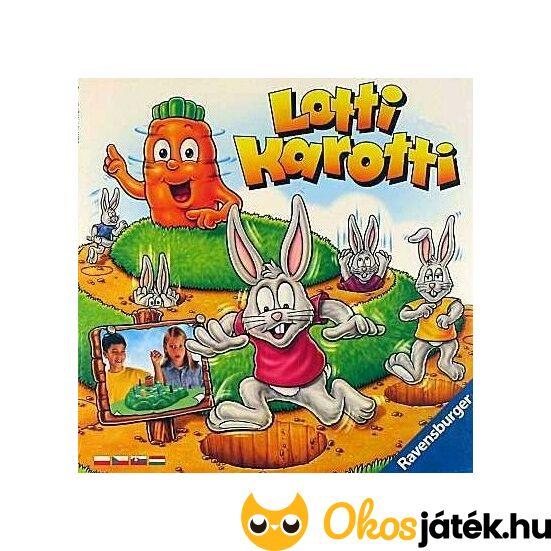 Lotti Karotti társasjáték, egyik kedvenc - Ravensburger 921569 55362 (RE)