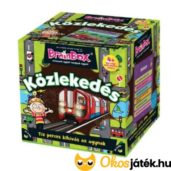Brainbox közlekedés - memória és kvíz társasjáték (KE)