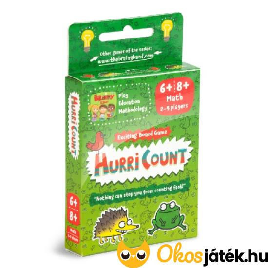 HurriCount Számhurrikán kártyajáték Brainy Band (CU)