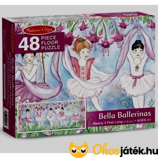 Balerina puzzle 48 darabos - Melissa & Doug balettos nagy puzzle 14413 (ME)