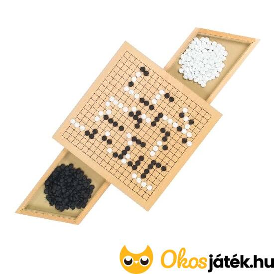 Go társasjáték, go táblajáték fából - Goki 56916 (HO)
