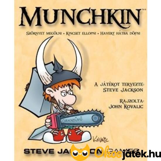 Munchkin alapjáték - humoros társasjáték tiniknek, felnőtteknek (GE)