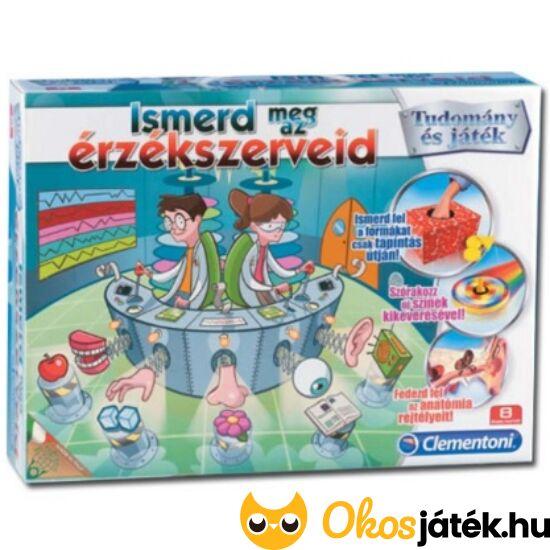 Érzékszervi kísérletezős játékok - Ismerd meg az érzékszerveid - Clementoni Piatnik (PI)