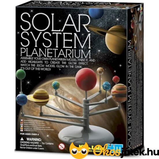 4M naprendszer bolygók modell / makett - Solar System Planetárium 82735 (RE)
