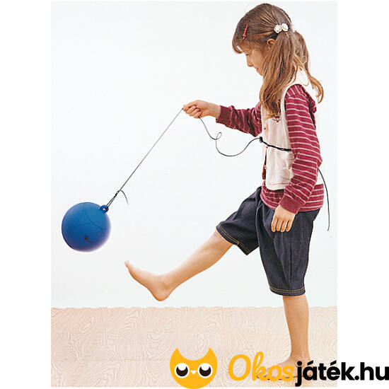 Zsinóros labda (visszapattanó labda) gyerekeknek (021) (ED)