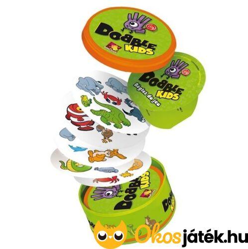 Asmodee Dobble KIDS - a Dobble kisebbeknek való változata (GE) 4 éves kortól, 2-6 játékos