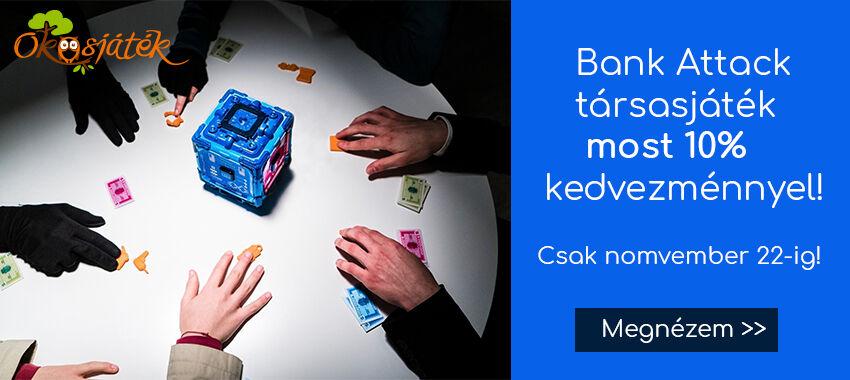 bank attack akcio