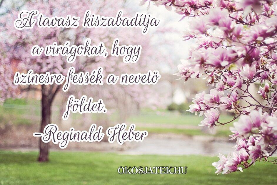 virágokról idézetek Tavaszi idézetek