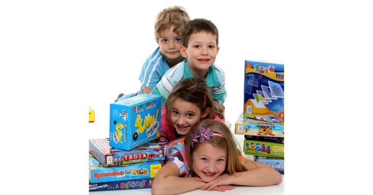 Okosító játékok gyerekeknek