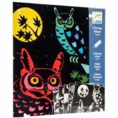 Bársonyos színező - Az erdő  - Djeco DJ 9623 (BO)