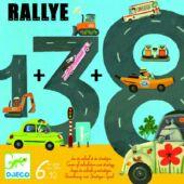 Rallye autóverseny / autós -  számolós társasjáték - Djeco 8461 (BO)