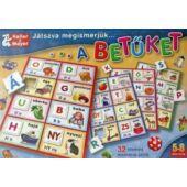 Játszva megismerjük a betűket képességfejlesztő játék  - Keller & Mayer (KM)