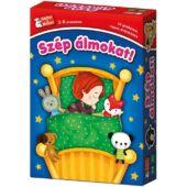 Szép álmokat társasjáték 3 és 4 éves gyerekeknek - KellerMayer (KM)