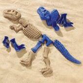 Dinoszauruszos homokozó forma játék (390) (ED)