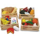 Fa játék ételek szerepjátékhoz - Melissa and Doug 10271 (ME)