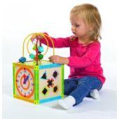 Játékcenter, Eichorn 5 játék egyben, vidám, színes fajáték 2235 (SI)