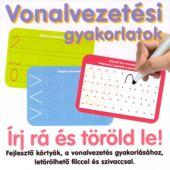 Vonalvezetési gyakorlatok (feladatkártyák letörölhető filccel) (RE)