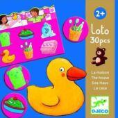 Az otthon szavai - lotto játék piciknek - Djeco 8121 (BO)