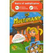 Multimany - szorzás 2-vel, 3-mal, 4-gyel, 5-tel kártyajáték - Brainy Band (CU)