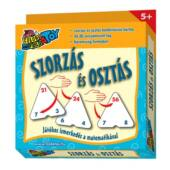 Szorzás kártya (Szorzás-osztás kombinációs kártyajáték, háromszög alakú) (RE)