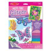 Glitteres pillangós katicás kreatív játék lányoknak - Melissa Doug 19511 (ME)