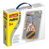 Quercetti Mini Pallino úti játék, logikai játék gyerekeknek utazáshoz - 1006 (KW)