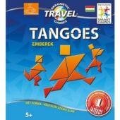 Mágneses tangram játék utazáshoz (emberek) - Smart Games tangoes people (GA)