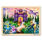Tündéres, lovas fa puzzle, 48db-os - Melissa Doug 13804 (ME)