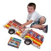 Tűzoltós óriás puzzle, 24 darabos - Melissa & Doug 10436 (ME)