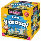 Brainbox A világ városai - memória és kvíz kérdések játék (KE)