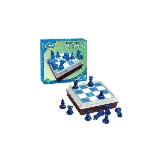 Solitaire Chess egyszemélyes sakk - ThinkFun - szoliter játék - GE