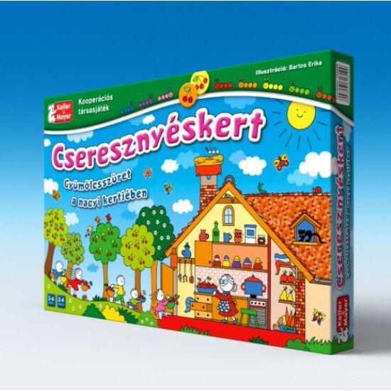 Cseresznyéskert társasjáték Anna Peti, Bartos Erika (147)  Keller & Mayer (KM)
