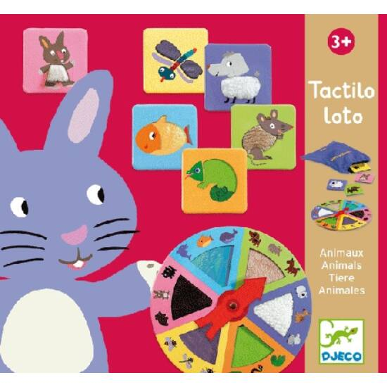 Tapintós-érzékelős játék - Djeco Tactilo loto 8129 (BO)