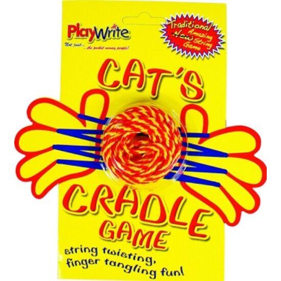 Macskabölcső játék madzagos zsinóros kéz átvevős játék - AN