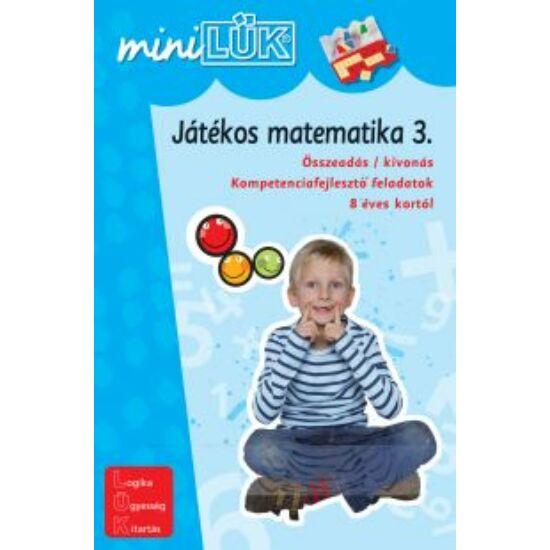 Játékos matematika 3. LÜK Mini LDI220