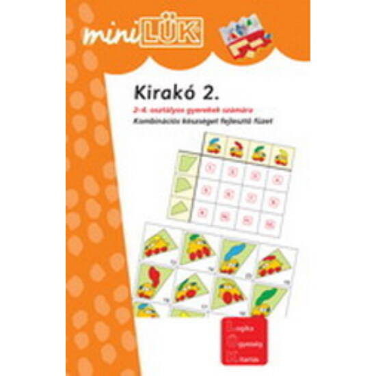 "Kirakó 2. LÜK mini füzet LDI604 (DI) ""Utolsó darabok"""