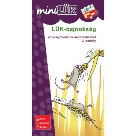 "Matek 3.o. - LÜK Mini Bajnokság LDI503 (DI) ""Utolsó darabok"""