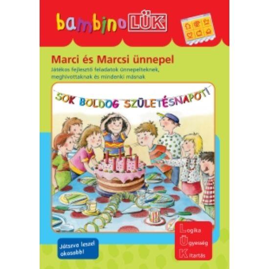 Marci és Marcsi ünnepel LÜK Bambino füzet LDI-115