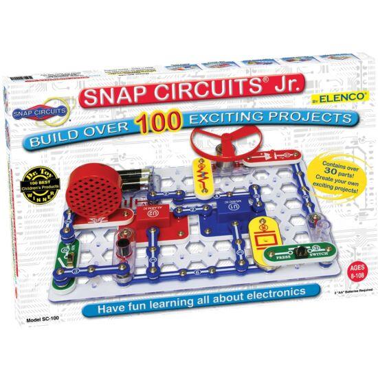 Snap circuits junior 100 elektromos kísérletezős játék  (2111) (GI)