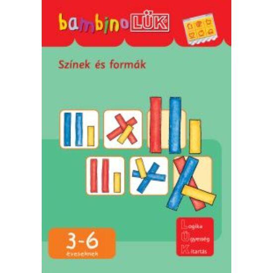 Színek és formák LÜK Bambino füzet  LDI-122 (DI)