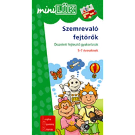 Szemrevaló fejtörők LÜK Mini LDI203 (DI)
