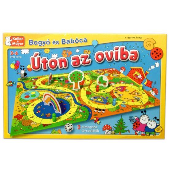 Bogyó és Babóca társasjáték - Úton az oviba-  KM-713038