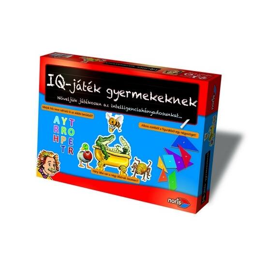 IQ játék gyerekeknek Noris társasjáték (SI)