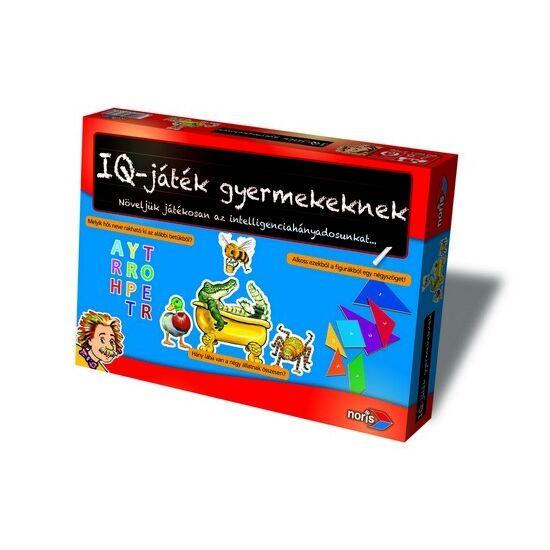 """IQ játék gyerekeknek Noris társasjáték - SI 037064 """"utolsó darabok"""""""