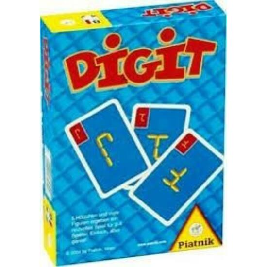 Digit kártyajáték, logikai társasjáték - Piatnik (PI)
