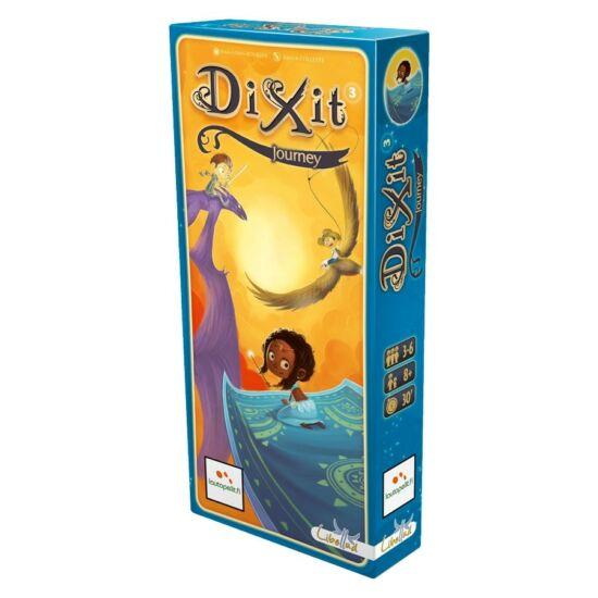 Dixit 3 kiegészítő kártya csomag - Utazás (GE)