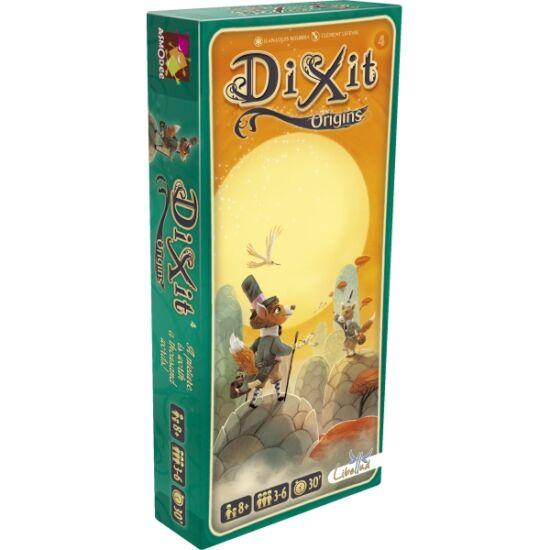"""Dixit 4 kiegészítő kártyák - 4. rész: """"Eredet"""" (GE)"""