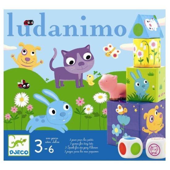 Ludanimo 3 játék egyben - Djeco 8420 (BO)