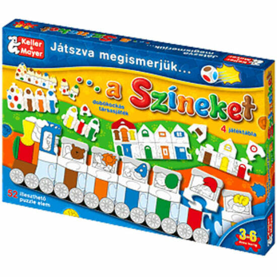 Játszva megismerjük a színeket  - KM 712079