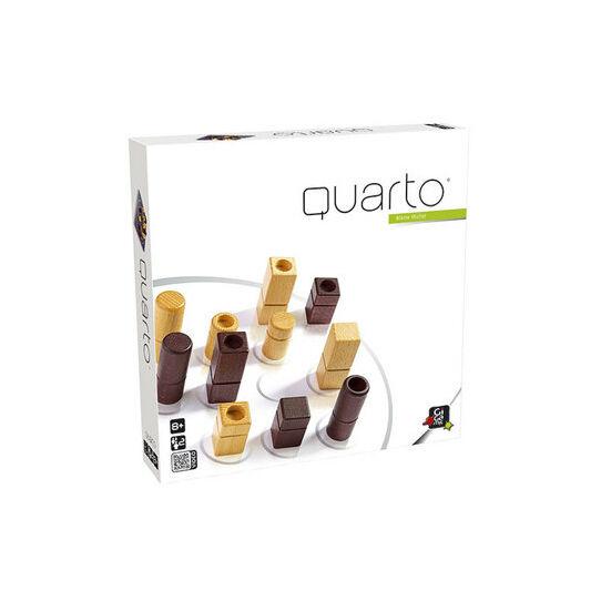 Quarto amőba, ötödölő minőségi fa logikai játék Gigamic (804) (GE)